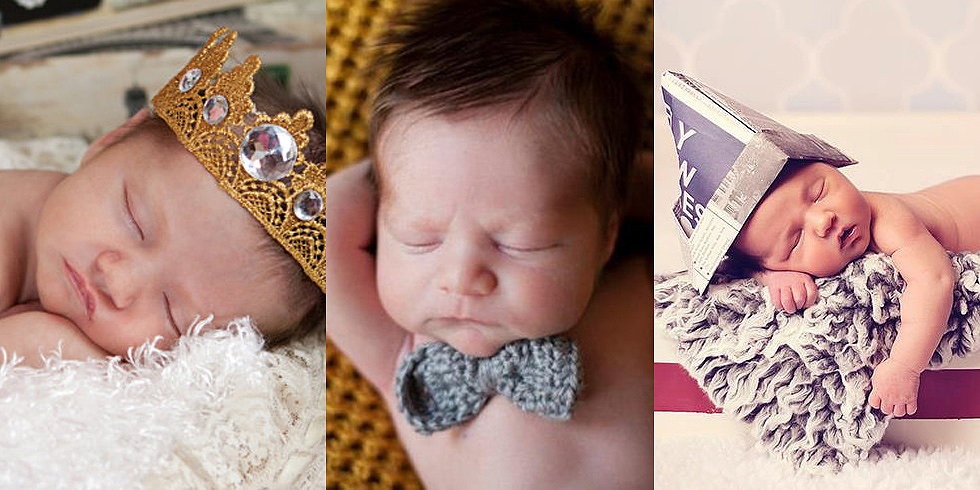 15 Gorgeous Handmade Props For Baby's First Photo Shoot