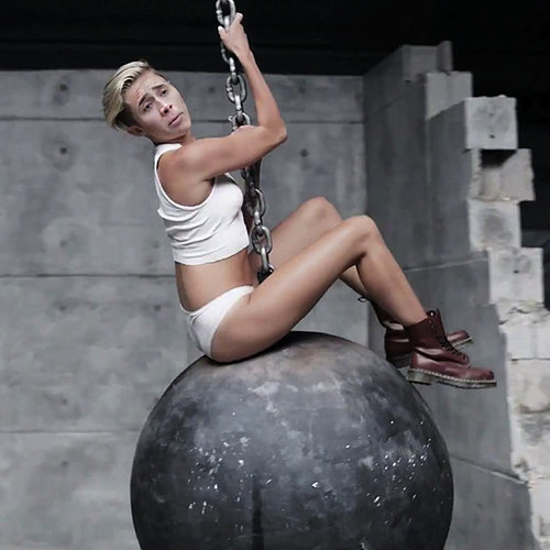 Miley Cyrus Wrecking Ball Parody | Video