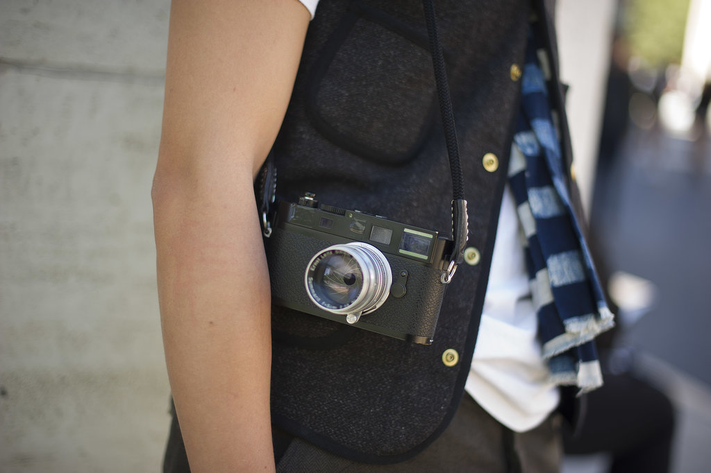 Wait, who even needs a bag when you have a camera?