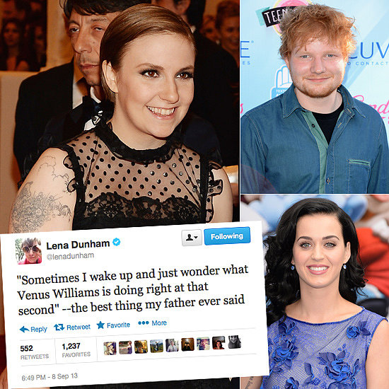 Celebrity Tweets of the Week: Lena Dunham, Katy Perry, Ed Sheeran & More!