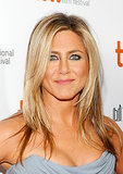Jennifer Aniston is queen of the straight hair, as she showed off at the Life of Crime premiere at the Toronto International Film Festival.