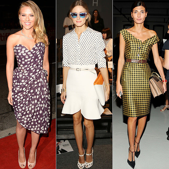Top 20 Best Dressed Of The Week: Bare Legs, Bold Bags & Monochrome Everything