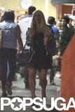 Jessica Simpson Shows Off Her Postbaby Body in a Short Black Skirt