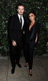 David Beckham and Victoria Beckham coupled up at the Global Fund party as part of London Fashion Week.