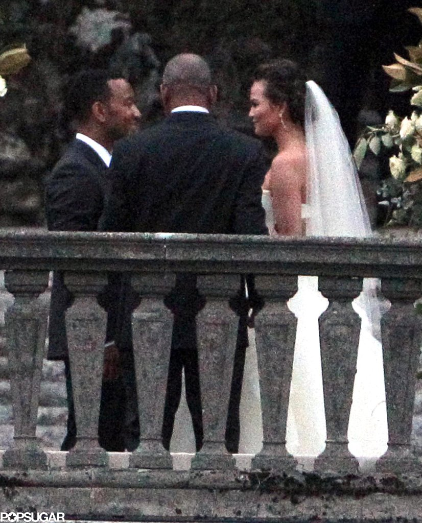 John Legend and Chrissy Teigen got married in September 2013 in Lake Como, Italy.