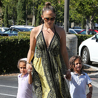 Jennifer Lopez Takes Her Twins Shopping in LA Pictures