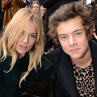 Harry Styles and Sienna Miller at Burberry Prorsum | Photos