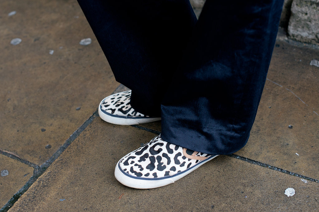 Why not slip into a little leopard print?