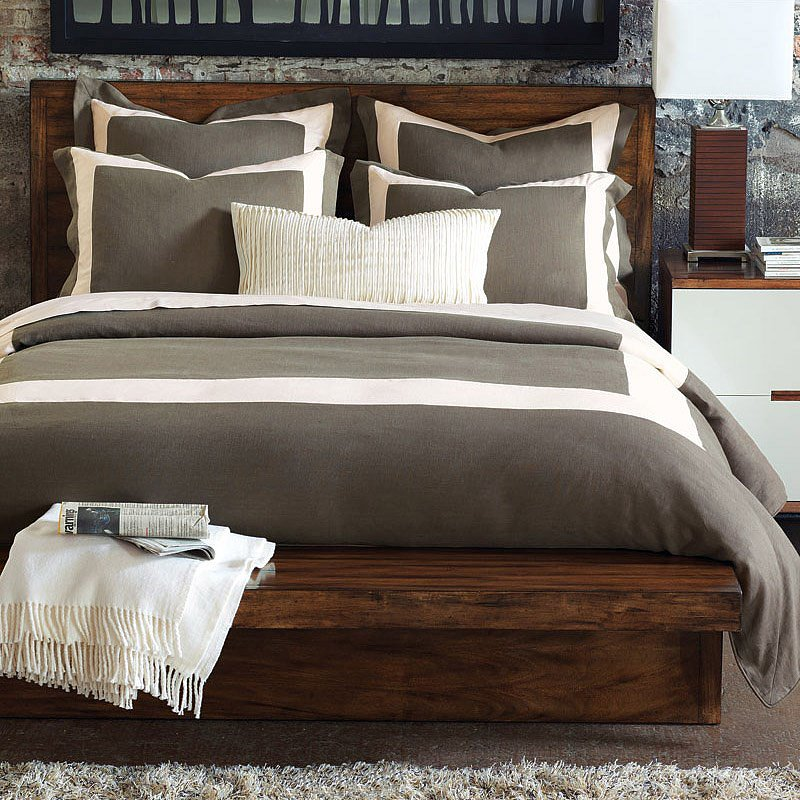 While this linen duvet ($575) is a timeless option, its earthy tones make it fitting for Fall.