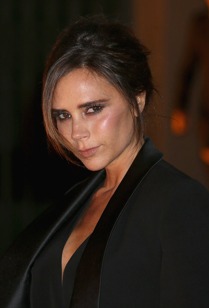 "Victoria Beckham designed a ""green"" dress as part of the first Green Carpet Challenge collection."