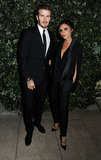 David Beckham and Victoria Beckham stepped out for the London Fashion Week event.