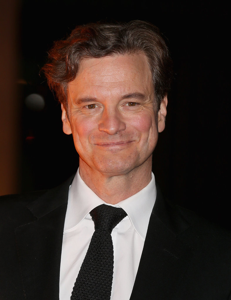 Colin Firth attended the London Fashion Week event, which was hosted by his wife and more big names.