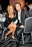 Miley Cyrus accompanied Liam Hemsworth to the Australians In Film Awards in LA in June 2012, shortly after their engagement news broke.