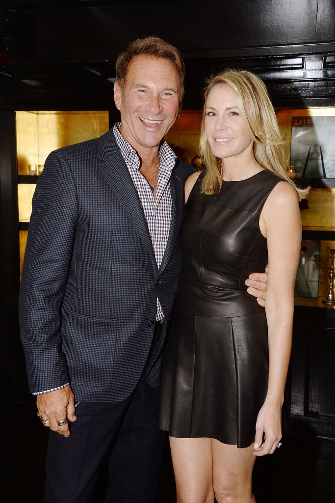 Hal Rubenstein and Dee Hilfiger dined with HSN at Omar's in New York.  Source: HSN