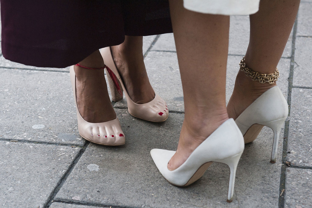These Céline heels do the work for you — they already have pedicured toes!