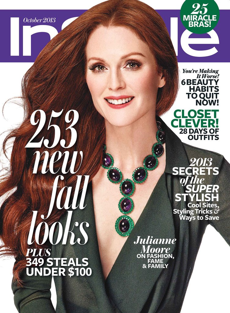 Julianne Moore photographed by Giampaolo Sgura for InStyle.  Source: InStyle