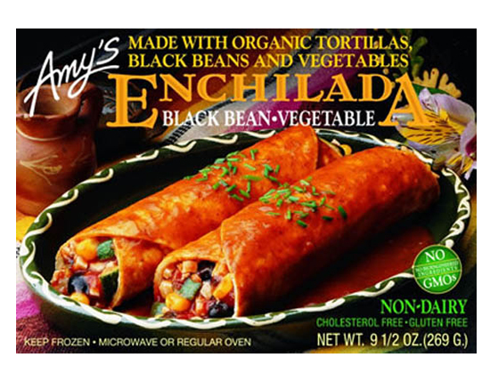 Amy's Black Bean Enchilada