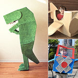 22 Halloween Costumes to Make From a Cardboard Box