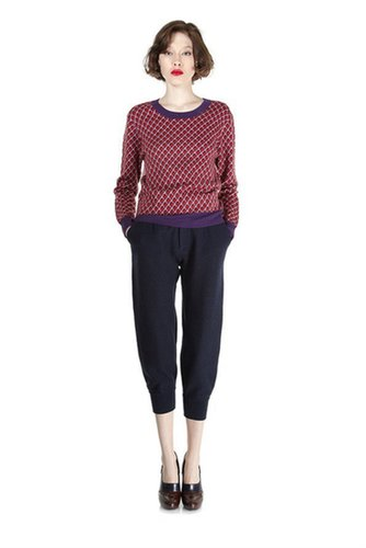 Luna Jacquard Sweater