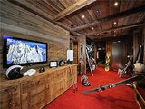 Here's something you could get used to — taking an elevator down to your own private ski lodge.  Source: Sotheby's Realty