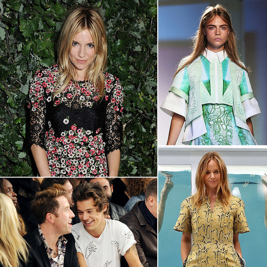 Front Row Status: See All the Stars at London Fashion Week!