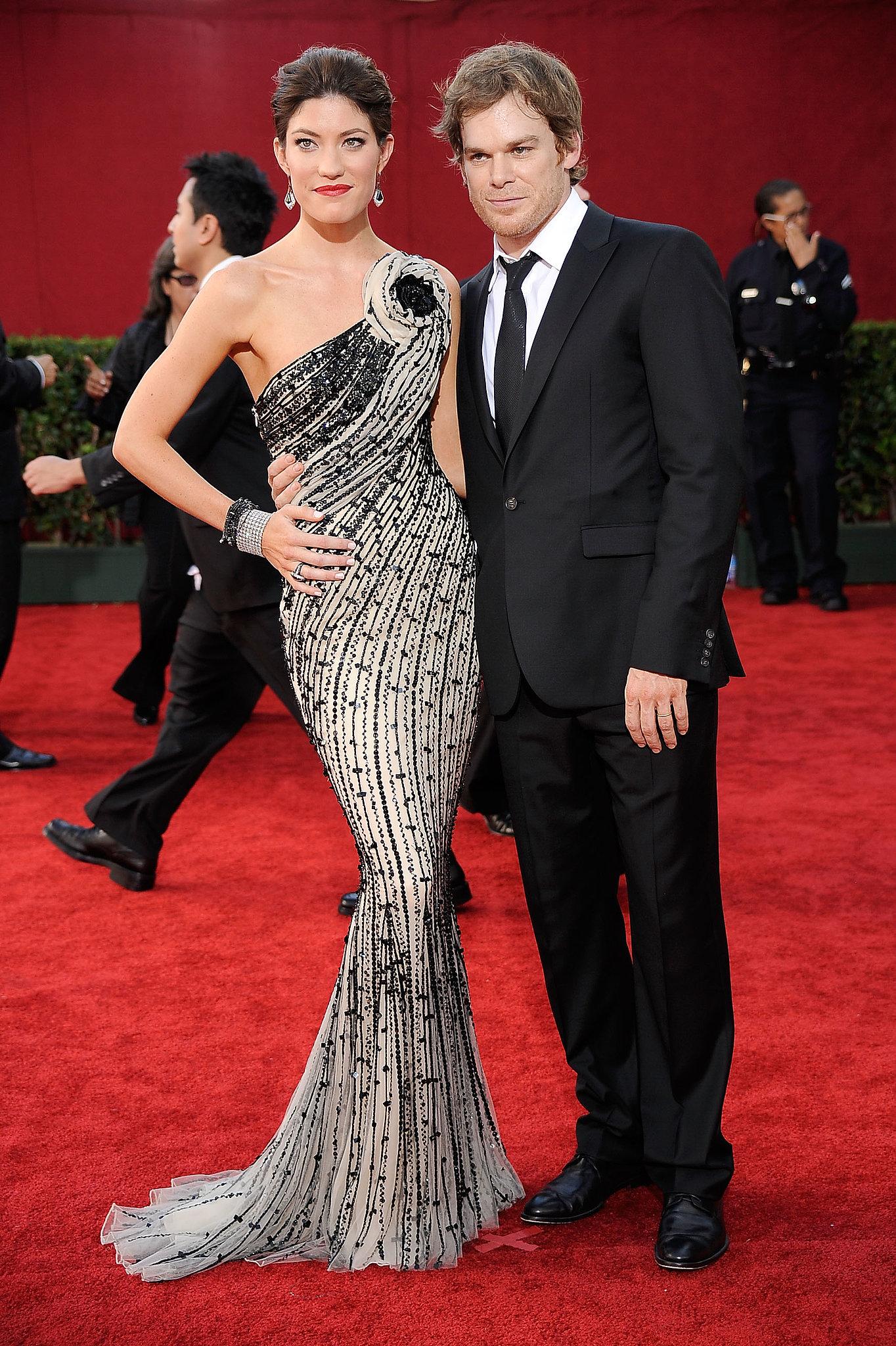 Former Dexter couple Jennifer Carpenter and Michael C. Hall arrived together in 2009.