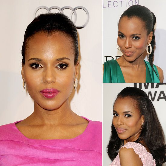 Kerry Washington May Be Best Dressed, but She's Also a Beauty Superstar