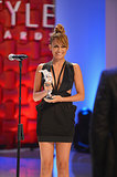 Further cementing her style star status, Nicole Richie was honored at the Style Awards in NYC in September 2012.