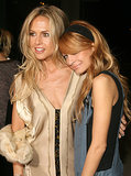 Nicole Richie joined Rachel Zoe at a cocktail party for designer Charlotte Ronson in LA back in October 2006.