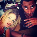 Doutzen Kroes spent some quality time with her hubby, Sunnery James. Source: Instagram user doutzen