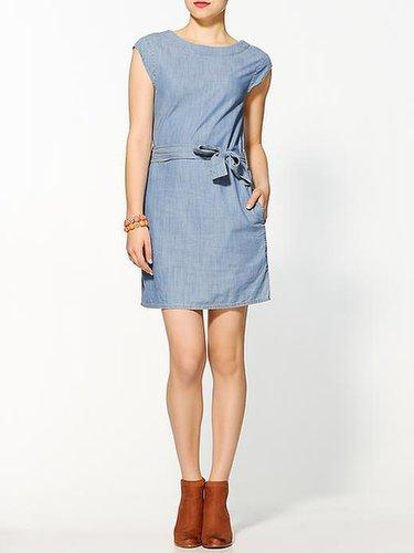Hive & Honey Sienna Chambray Mini Dress