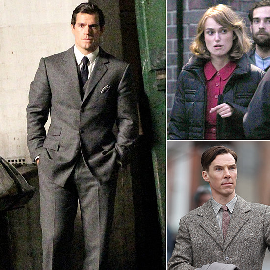 Henry Cavill, Keira Knightley, Benedict Cumberbatch, and More Stars on Set