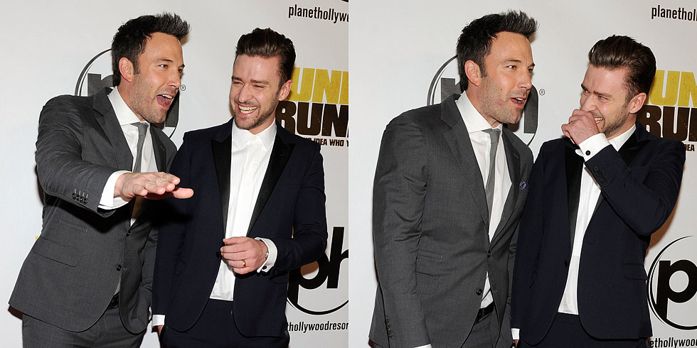 Ben Affleck Gives Justin Timberlake the Giggles at Their Big Premiere