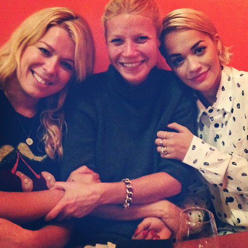 Gwyneth Paltrow With Rita Ora | Photo