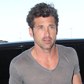 Patrick Dempsey at the Airport