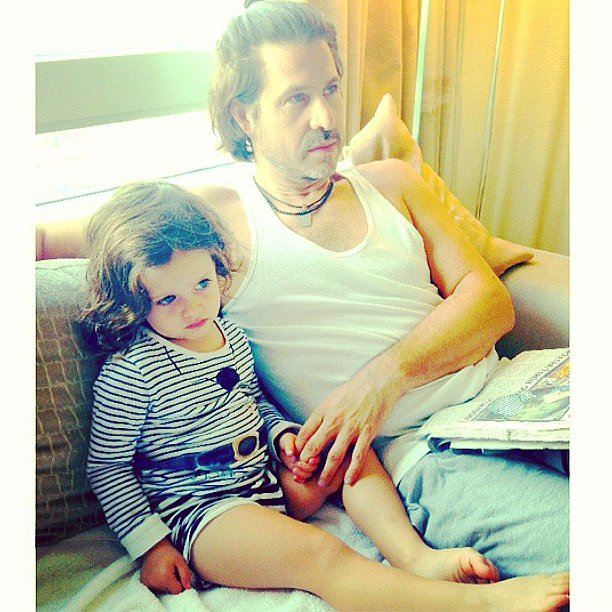 Rachel Zoe snapped a quick photo of her boys relaxing together. Source: Instagram user rachelzoe