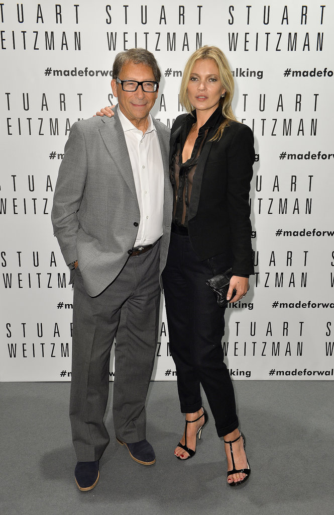 Kate Moss and Stuart Weitzman celebrated his store opening.
