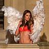 Victoria's Secret Models Shooting Holiday Commercial Paris