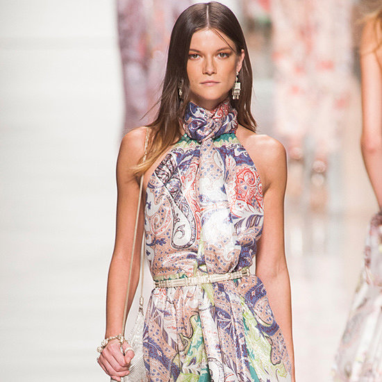 Etro Spring 2014: Paisley on Parade