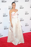 At the 2013 New York City Ballet Fall gala, Sarah Jessica Parker stole the show in her ballerina-inspired pale pink ensemble — the top half was designed for her by Prabal Gurung and the bottom was by Olivier Theyskens.