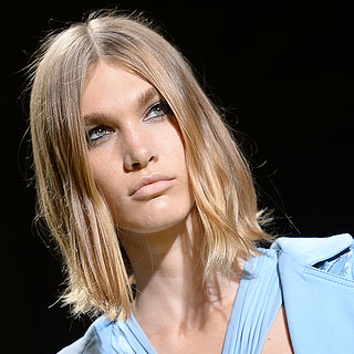 Beauty at Versace 2014 Milan Spring Fashion Week