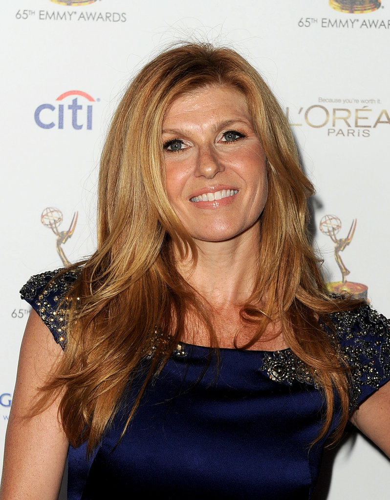 At the Academy of Television Arts & Sciences' Emmy Awards Nominee Reception, Connie Britton's iconic mane was out in full force.
