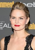 A flick of eyeliner and glossy crimson lips were a sexy look on Jennifer Morrison at Entertainment Weekly's pre-Emmys party.