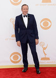 Kevin Spacey attended the 2013 Emmys.