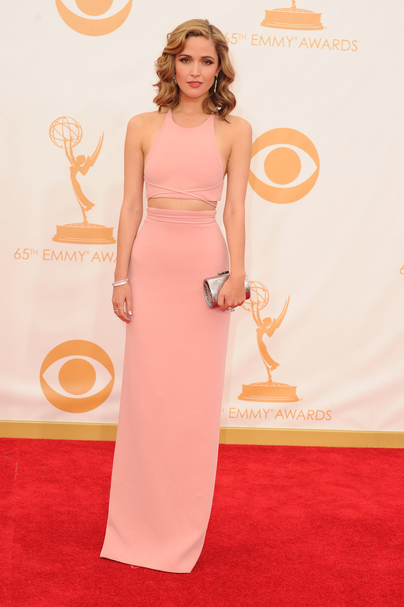 Actress Rose Byrne attended the 2013 Emmys.