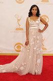 Kerry Washington stunned at the 2013 Emmys.