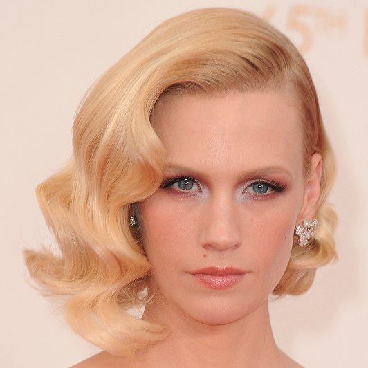 Pictures of January Jones at the 2013 Emmy Awards