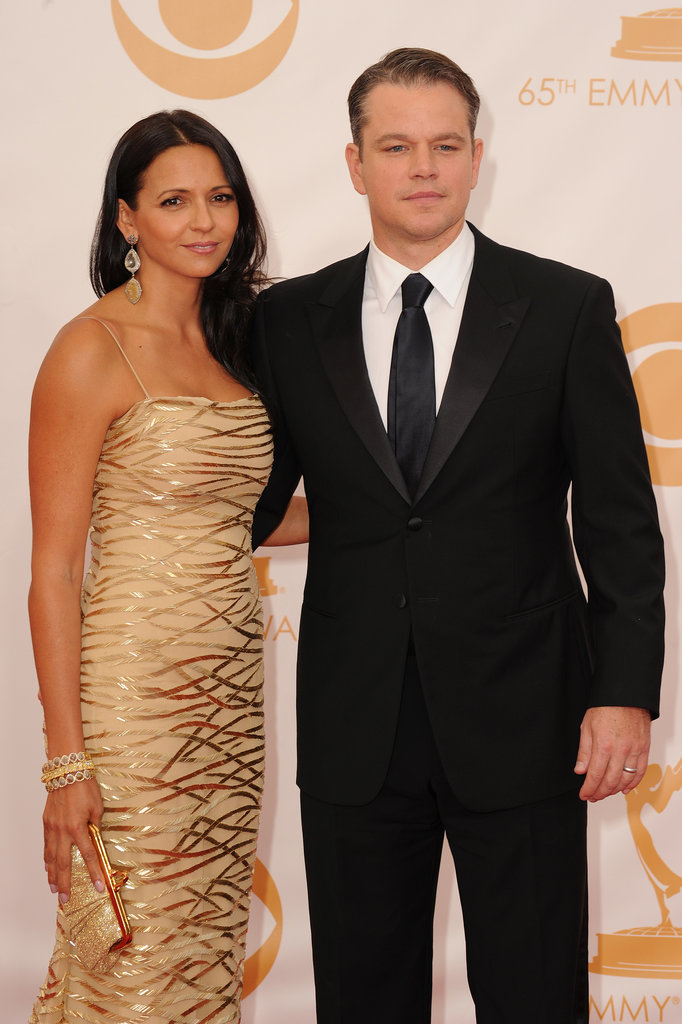 Matt Damon's Still Got a Golden Statue Tonight — His Wife, Luciana!