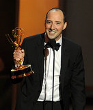 Tony Hale accepted the award for best supporting actor in a comedy series.