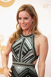 The red carpet doesn't always require an over-the-top makeup moment. Leslie Mann kept the focus on her natural beauty.